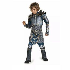 Warcraft LOTHAR Boy's size 10-12 Costume